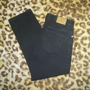 ralph lauren green tag straight leg jeans